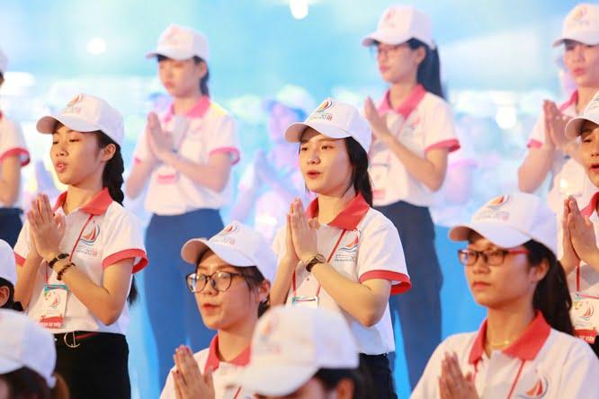 hdv 8703 - Đại hội Giới trẻ giáo tỉnh Miền Bắc lần thứ XVI: Nghi thức khai mạc