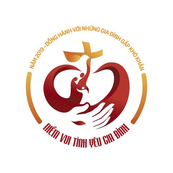 Logo Năm Mục vụ Gia đình 2019
