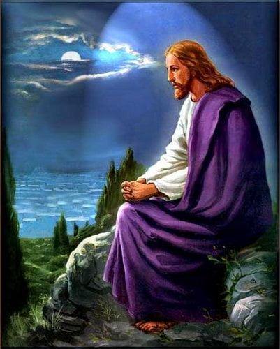 Ngài rao giảng và cầu nguyện 2