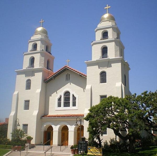 nha tho muc tu nhan lanh - Những ngôi thánh đường ở Hollywood