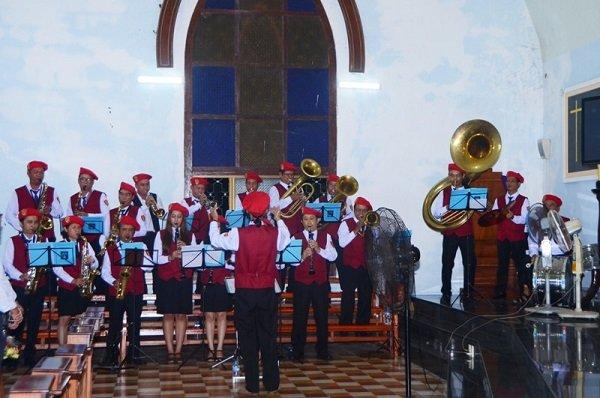 Nhạc đoàn Nắng Mai của giáo xứ