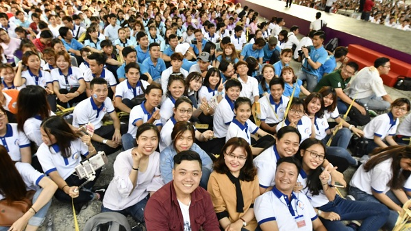 saigon dhgt 01 - Đại hội Giới trẻ 2018 tại TGP Sài Gòn