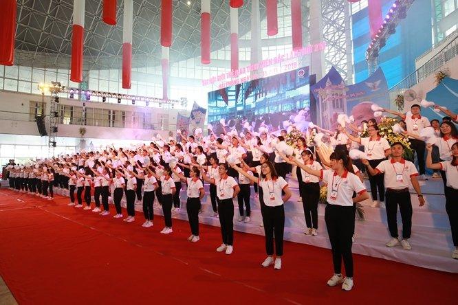 sphi5043 - Đại hội Giới trẻ giáo tỉnh Miền Bắc lần thứ XVI: Nghi thức khai mạc
