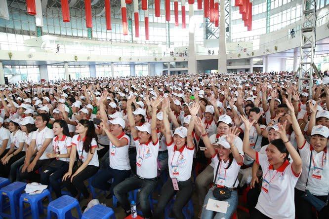 sphi5059 - Đại hội Giới trẻ giáo tỉnh Miền Bắc lần thứ XVI: Nghi thức khai mạc