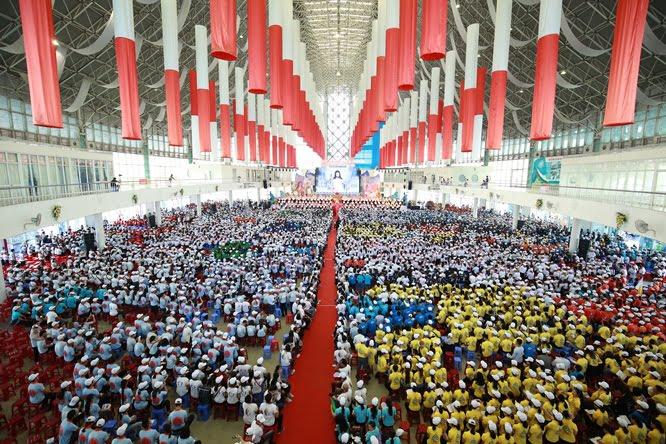 sphi5076 - Đại hội Giới trẻ giáo tỉnh Miền Bắc lần thứ XVI: Nghi thức khai mạc