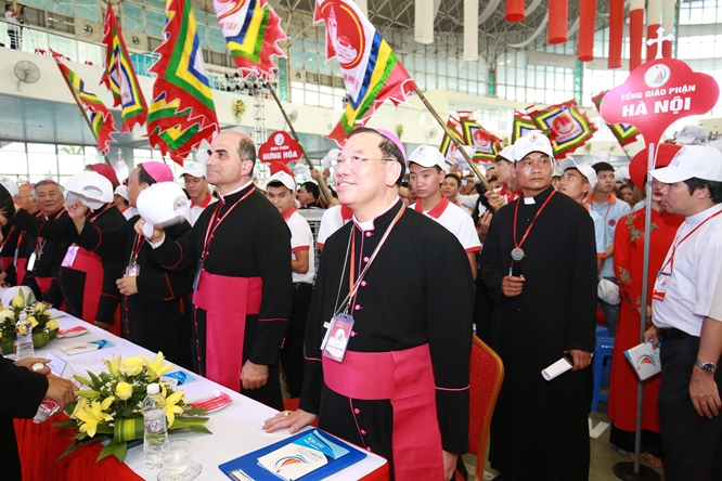 sphi5087 - Đại hội Giới trẻ giáo tỉnh Miền Bắc lần thứ XVI: Nghi thức khai mạc
