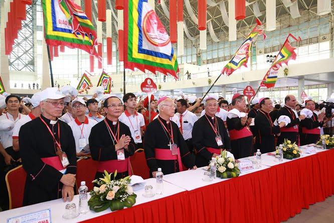 sphi5089 - Đại hội Giới trẻ giáo tỉnh Miền Bắc lần thứ XVI: Nghi thức khai mạc