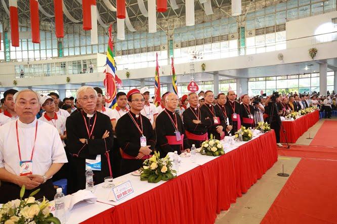 sphi5162 - Đại hội Giới trẻ giáo tỉnh Miền Bắc lần thứ XVI: Nghi thức khai mạc