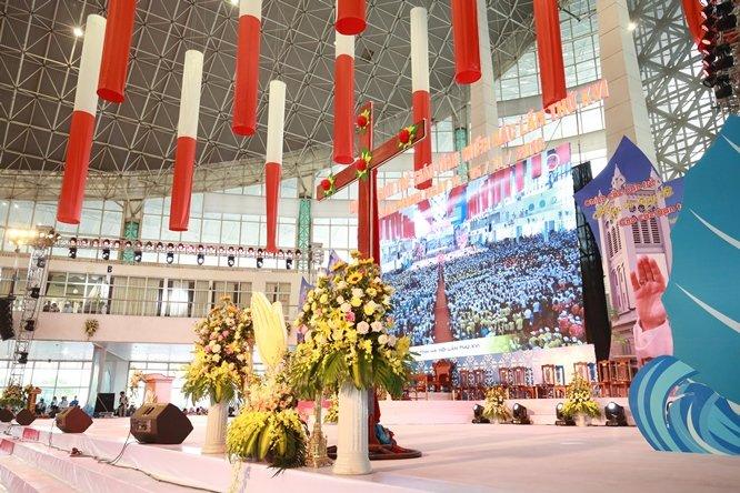 sphi5173 - Đại hội Giới trẻ giáo tỉnh Miền Bắc lần thứ XVI: Nghi thức khai mạc