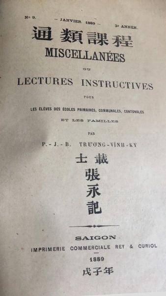 tap chi miscellanees so 9 thang gieng nam 1889 338x600 - Người đầu tiên ghi nhận công trình của linh mục Ðặng Ðức Tuấn