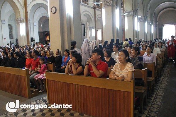thanh le be mac nam thanh kinh cac thanh tdvn tai nha tho duc ba sai gon 7 - Thánh lễ bế mạc Năm thánh kính Các Thánh TĐVN tại nhà thờ Đức Bà Sài Gòn