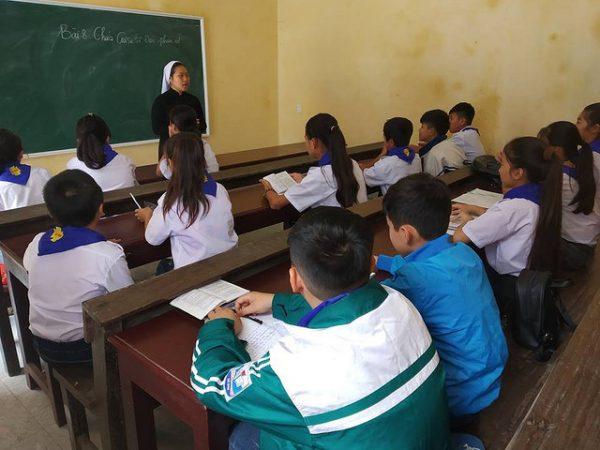 Trường giáo lý xứ Động Linh - Nơi ươm mầm đức tin 7