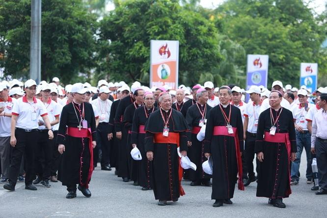 zzac8545 - Đại hội Giới trẻ giáo tỉnh Miền Bắc lần thứ XVI: Nghi thức khai mạc