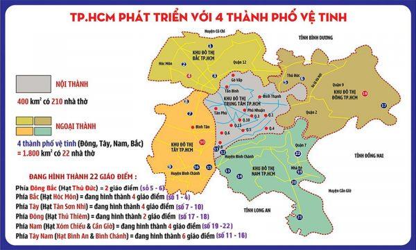 Bản đồ TGP Sài Gòn