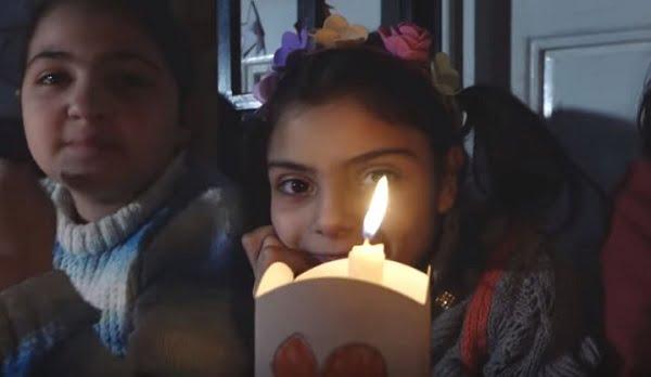 """Đức Phanxicô cổ võ """"Những ngọn nến vì hòa bình ở Syria"""" 3"""