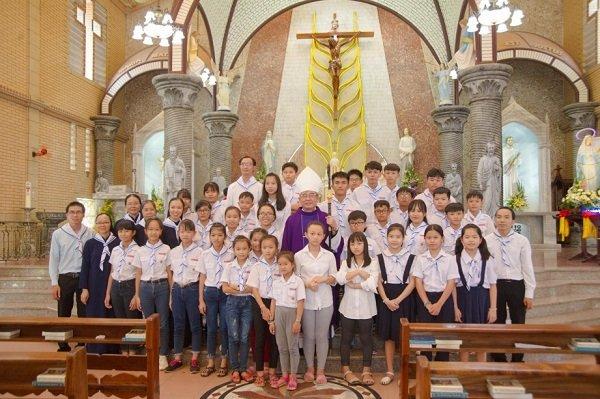 gioi tre con duc me mien sai gon mung bon mang 10 - Giới trẻ Con Đức Mẹ miền Sài Gòn mừng bổn mạng