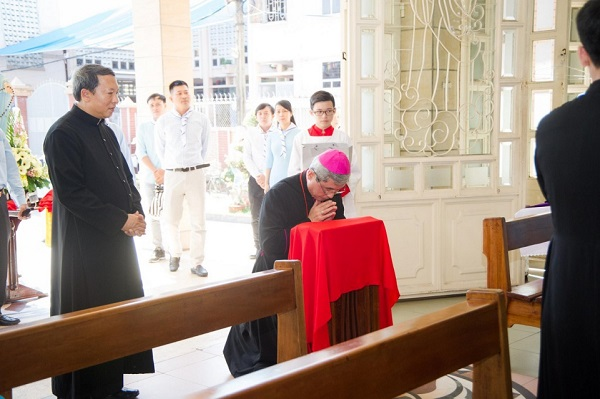 gioi tre con duc me mien sai gon mung bon mang 4 - Giới trẻ Con Đức Mẹ miền Sài Gòn mừng bổn mạng