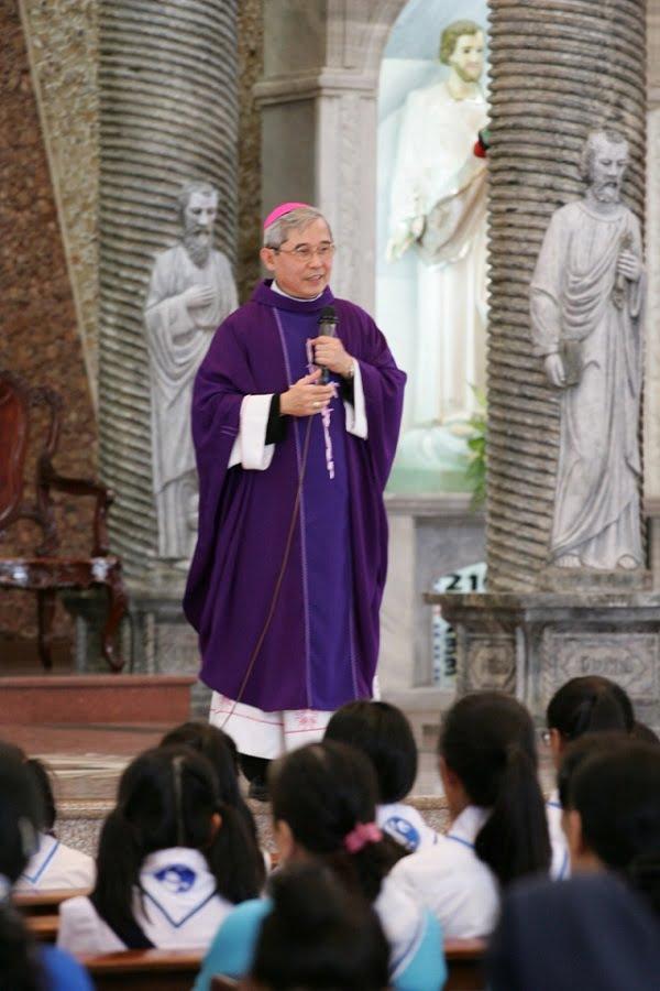 gioi tre con duc me mien sai gon mung bon mang 5 - Giới trẻ Con Đức Mẹ miền Sài Gòn mừng bổn mạng