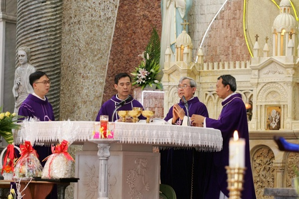 gioi tre con duc me mien sai gon mung bon mang 8 - Giới trẻ Con Đức Mẹ miền Sài Gòn mừng bổn mạng