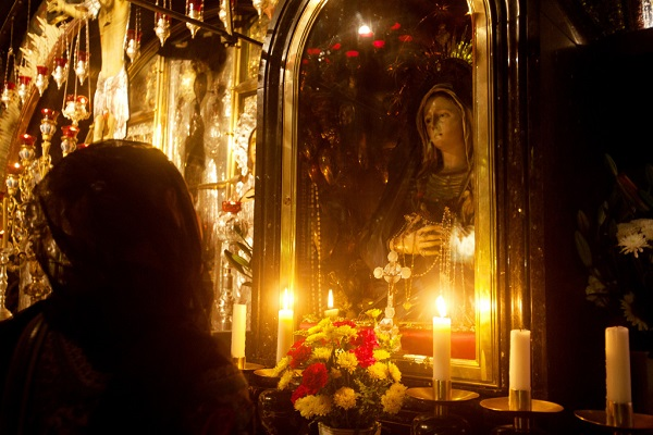nhung buc tuong duc me dep tuyet my 15 - Những bức tượng Đức Mẹ đẹp tuyệt mỹ