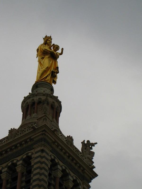 nhung buc tuong duc me dep tuyet my 5 - Những bức tượng Đức Mẹ đẹp tuyệt mỹ