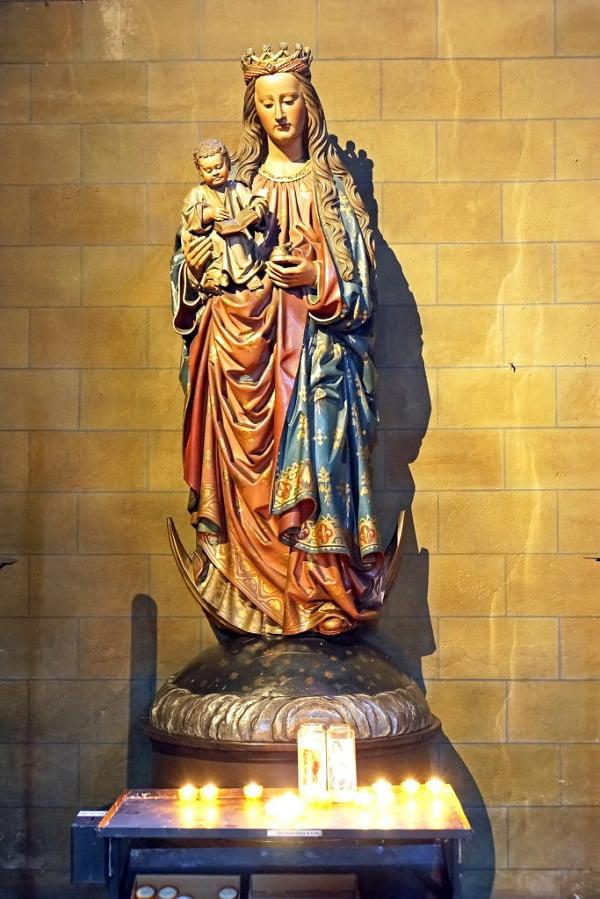 nhung buc tuong duc me dep tuyet my 9 - Những bức tượng Đức Mẹ đẹp tuyệt mỹ