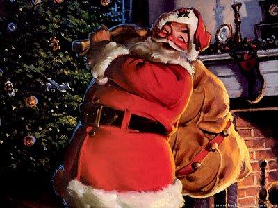 ong gia noel la ail - Ông già Noel là ai?