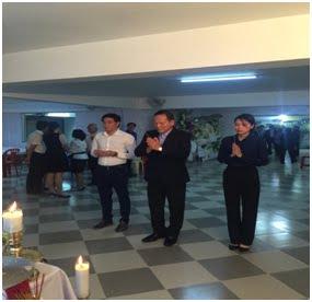 Phái đoàn Ban Tôn giáo Chính phủ viếng lễ tang Nữ tu Maria Trần Thị Kim Quyên 2