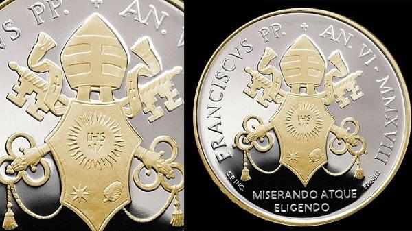 Tiền xu và tem về Đức Phaolô VI và cha thánh Piô 3