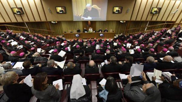 popefranis 21feb2019 02 600x338 - ĐTC khai mạc cuộc gặp gỡ về bảo vệ trẻ em trong Giáo Hội