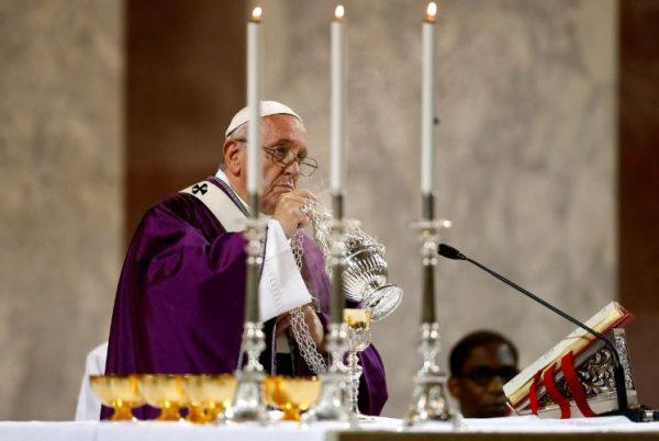 Đức Giáo Hoàng khai mạc mùa Chay 2019 3