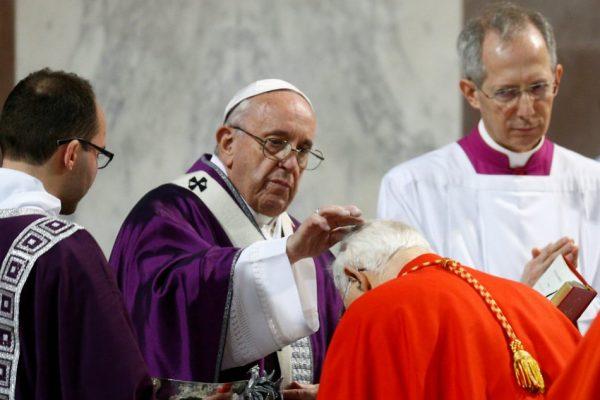 Đức Giáo Hoàng khai mạc mùa Chay 2019 5