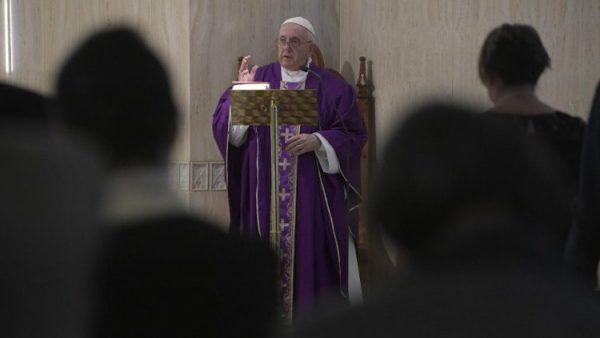popefrancis 28mar2019 01 e1553917695715 - ĐTC: Con tim chai đá không còn tín trung, phỉ báng Thiên Chúa