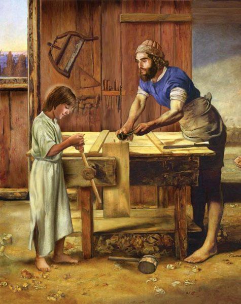 Thánh Giuse nêu gương tinh thần phục vụ và hợp tác trong gia đình
