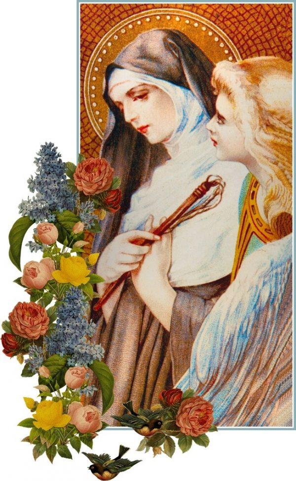 thanh phancica romana nu tu 1384 1440 e1552093684188 - Thánh PHANCICA RÔMANA Nữ tu (1384-1440)