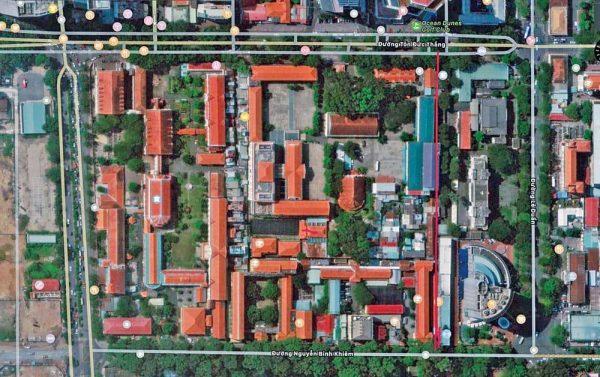 vatican nho giua long sai gon 2 600x377 - Vatican nhỏ giữa lòng Sài Gòn