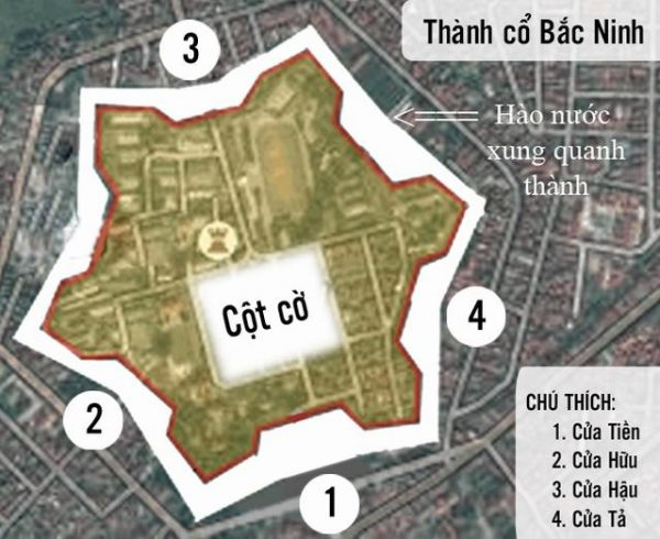cong ta 1 e1555132581171 - Cổng tả thành cổ Bắc Ninh: Nơi 100 vị đầu mục tử đạo xưa và nay