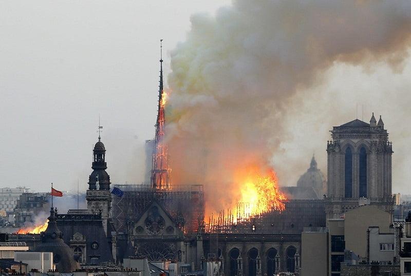 gan 1 ty euro do ve trung tu nha tho duc ba paris - Gần 1 tỷ euro đổ về trùng tu Nhà thờ Đức Bà Paris