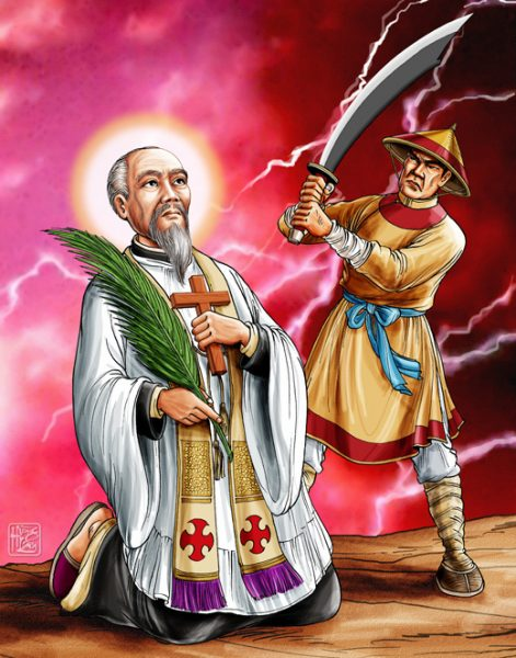 thanh phaolo le bao tinh linh muc 1793 1857 e1554524895235 - Thánh Phaolô LÊ BẢO TỊNH, Linh mục (1793-1857)