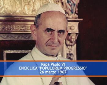 tom lluoc phan dau cua thong diep populorum progressio - Tóm llược phần đầu của Thông điệp Populorum progressio