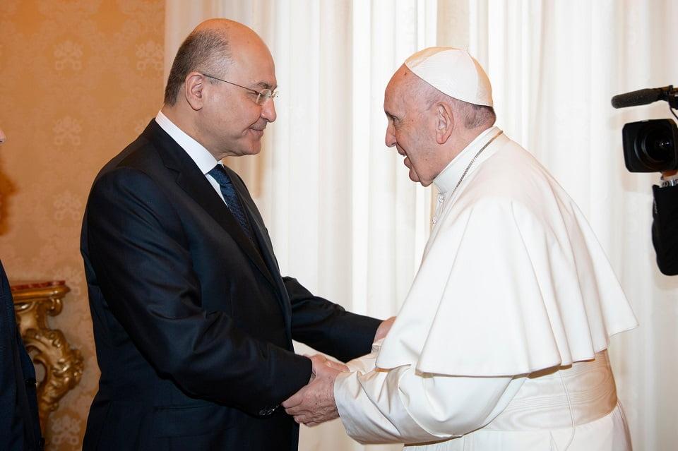 tong thong irak chao mung y muon vieng tham cua dtc - Tổng thống Irak chào mừng ý muốn viếng thăm của ĐTC