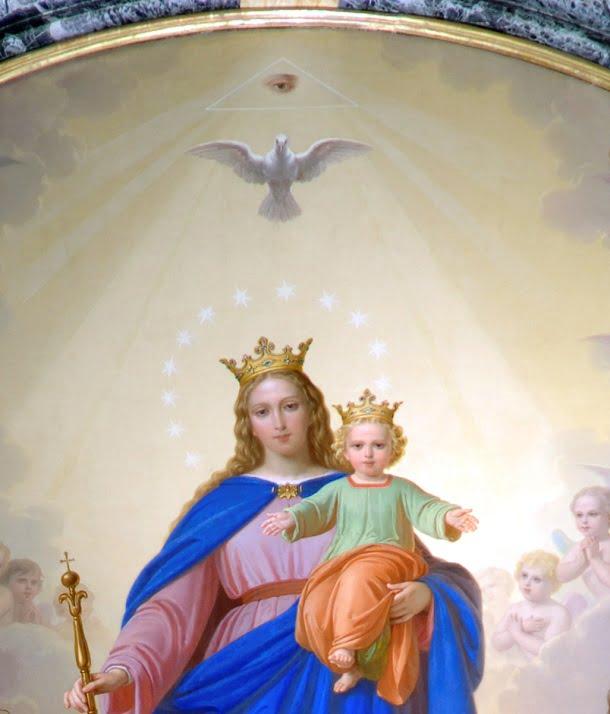 """Biểu tượng """"Thiên Nhãn"""" trong Kitô Giáo"""