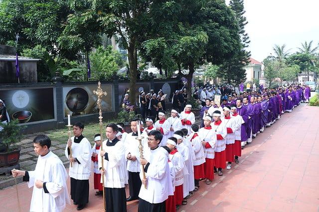 15956 cha khanh 4 - Thánh lễ an táng linh mục Phanxicô Xaviê Nguyễn Quốc Khánh