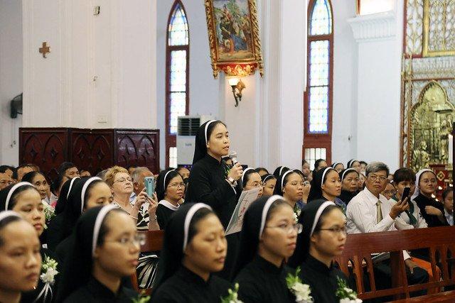 15971 khan dong mtg 12 - 39 nữ tu tuyên khấn trong Dòng Mến Thánh Giá Hà Nội: Một lần đoan hứa