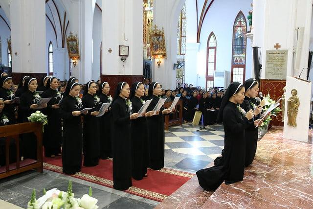 15971 khan dong mtg 13 - 39 nữ tu tuyên khấn trong Dòng Mến Thánh Giá Hà Nội: Một lần đoan hứa