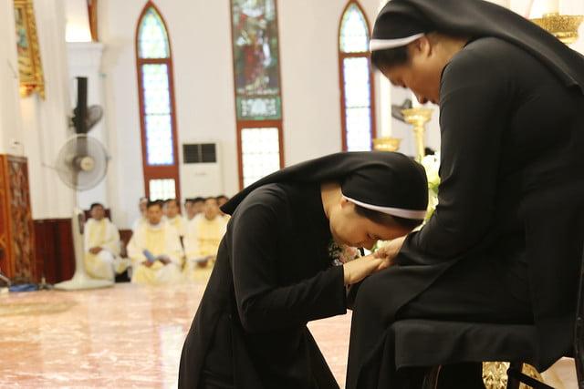 15971 khan dong mtg 14 - 39 nữ tu tuyên khấn trong Dòng Mến Thánh Giá Hà Nội: Một lần đoan hứa