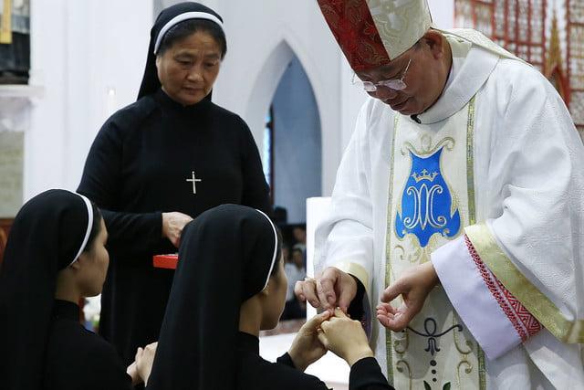 15971 khan dong mtg 15 - 39 nữ tu tuyên khấn trong Dòng Mến Thánh Giá Hà Nội: Một lần đoan hứa