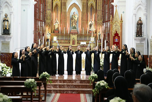 15971 khan dong mtg 17 - 39 nữ tu tuyên khấn trong Dòng Mến Thánh Giá Hà Nội: Một lần đoan hứa