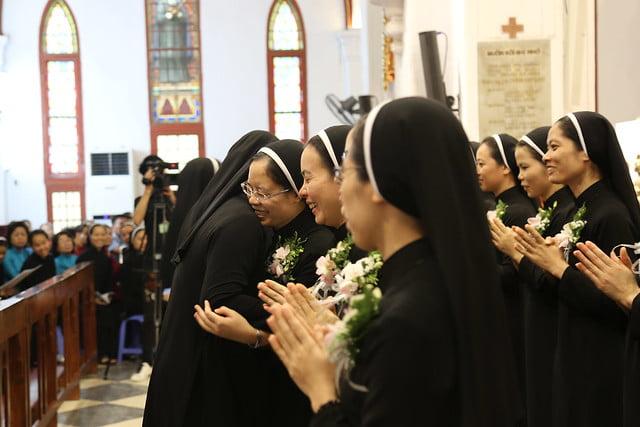 15971 khan dong mtg 19 - 39 nữ tu tuyên khấn trong Dòng Mến Thánh Giá Hà Nội: Một lần đoan hứa