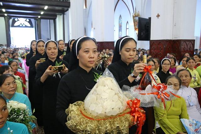 15971 khan dong mtg 20 - 39 nữ tu tuyên khấn trong Dòng Mến Thánh Giá Hà Nội: Một lần đoan hứa